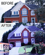 BEFORE AND AFTER ROOF WASH png