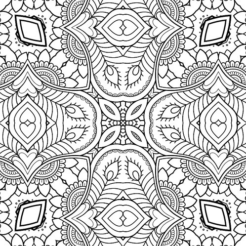 30 Mandala Designs (Book 1)