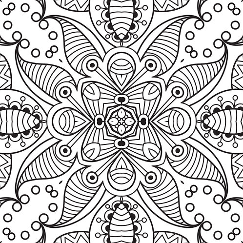 30 Mandala Designs (Book 6)