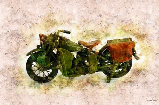 Motorcycle 3 Mixed Media LR.jpg