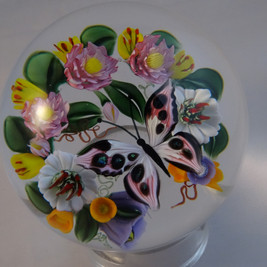 "Papillon rose ""dichroic"" (vendu)"