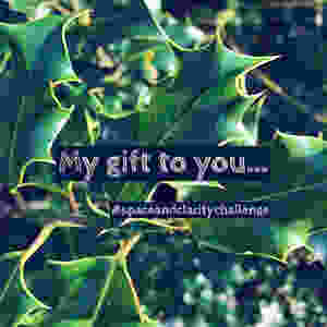 My gift to you; details of my space & clarity challenge