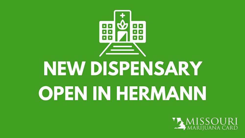 new dispensary open in hermann