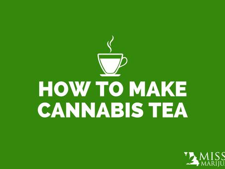 How to Make Cannabis Tea With Missouri Medical Marijuana Products