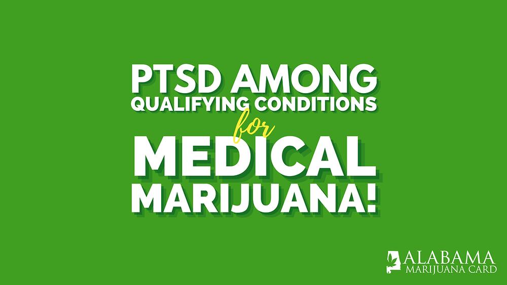 PTSD among qualifying conditions for medical marijuana
