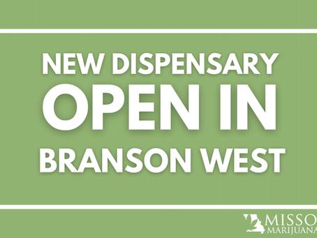New Dispensary Open in Branson West