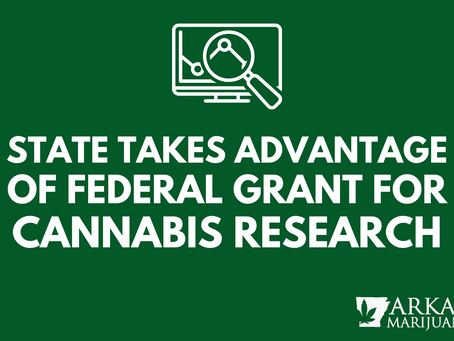 Cannabis Research in Arkansas Receives Federal Support