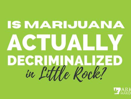Little Rock Marijuana Math – City Numbers Don't Add Up