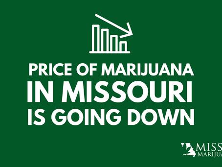 Price of Medical Marijuana Going Down in Missouri