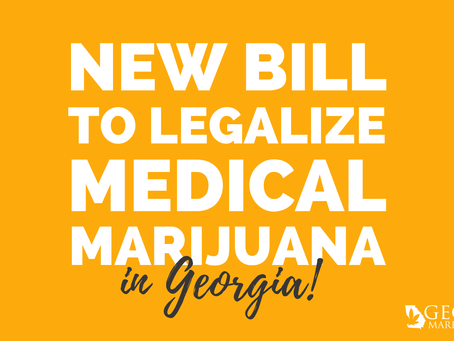 New Bill Introduced to Legalize Medical Marijuana—Not Just Low THC Oil—in Georgia