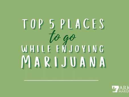 Top 5 Places to be High in Arkansas
