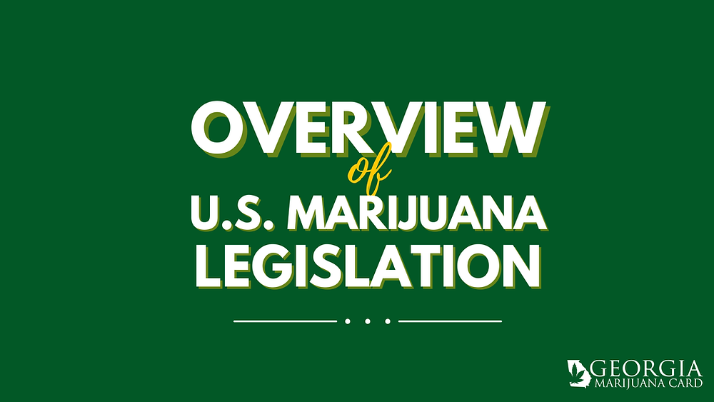 overview of us marijuana legislation