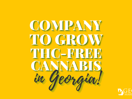 Florida Company to Grow THC-Free Cannabis in Georgia