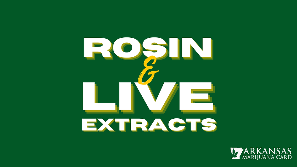 Rosin & Live Extracts