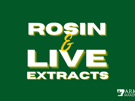 Rosin & Live Extracts in Arkansas