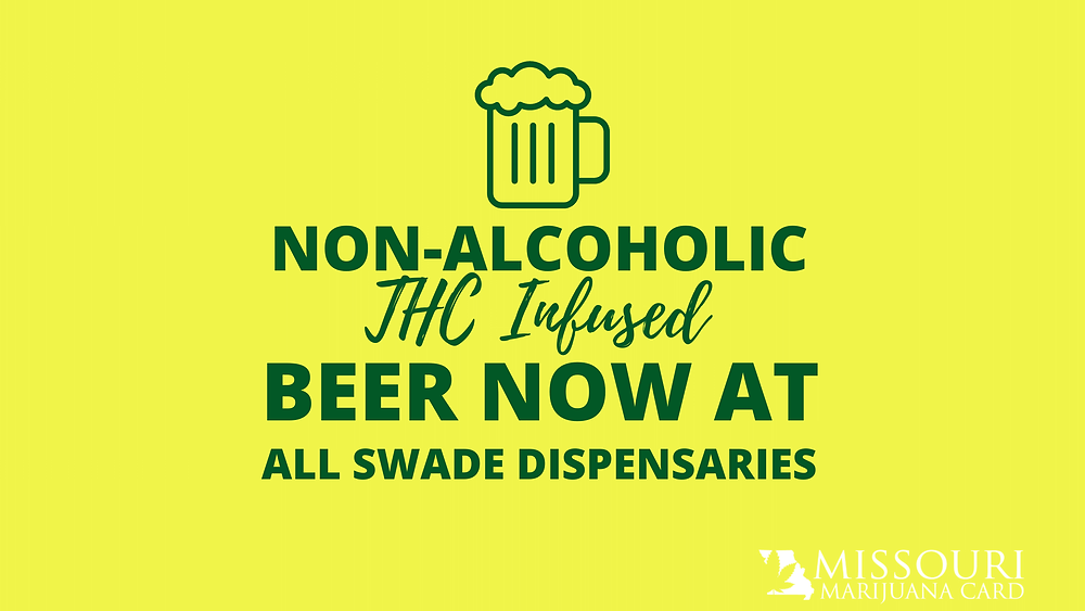Non-Alcoholic, THC-Infused Beer Now at All SWADE Dispensaries