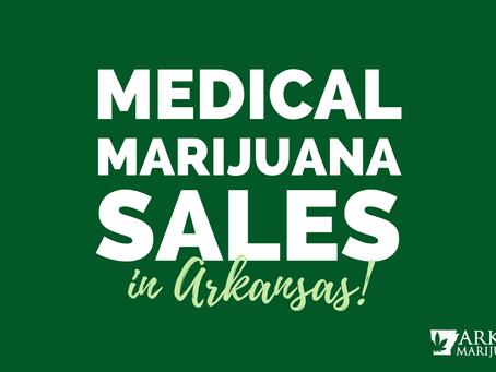 Cannabis Cash Arkansas Sales
