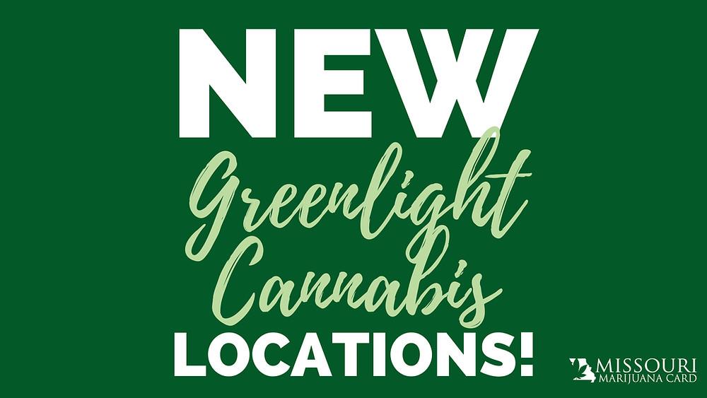 new greenlight cannabis locations