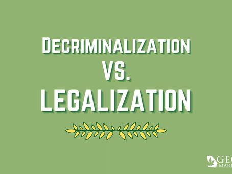 Decriminalization vs. Legalization in Georgia