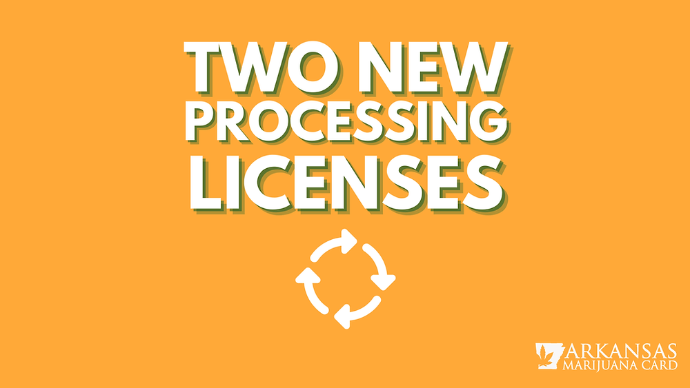 Two New Processing Licenses