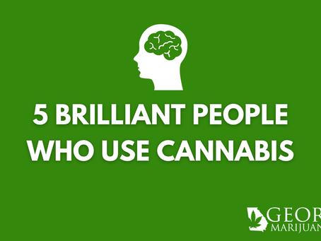 5 Brilliant People Who Used Cannabis