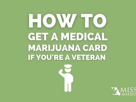 How to Get a Missouri Medical Marijuana Recommendation if You're a Veteran