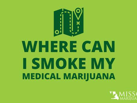 Where Can I Smoke My Medical Marijuana in Missouri?