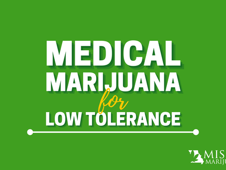 Cannabis is for Lightweights Too! Medical Marijuana for People With a Low Tolerance