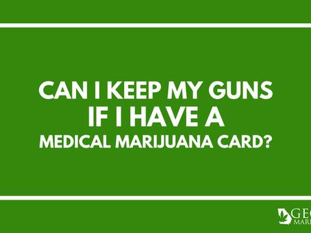 Georgia Medical Marijuana & Gun Ownership – Can I Buy Guns if I have a Medical Marijuana Card in GA?