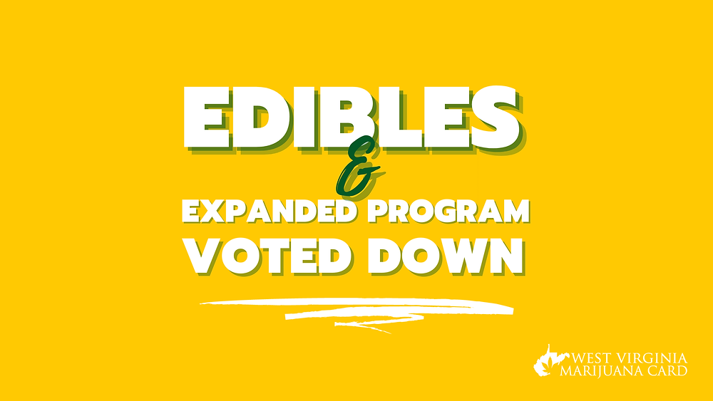 edibles and expanded program voted down