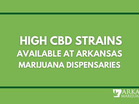 High CBD Products & Strains at Arkansas Dispensaries