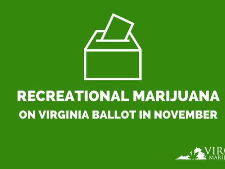 Recreational Marijuana Could be Threatened in Virginia's November Election