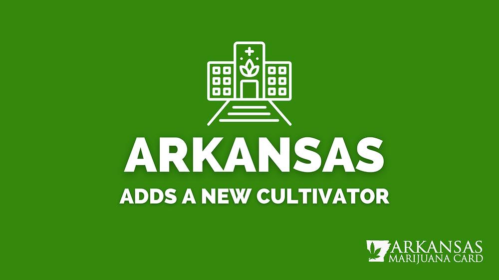 Arkansas adds a new cultivator