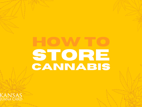 How To Store Your Cannabis: A Guide from Arkansas Marijuana Card