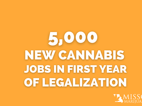 5,000 New Cannabis Jobs in First Year of Legalization