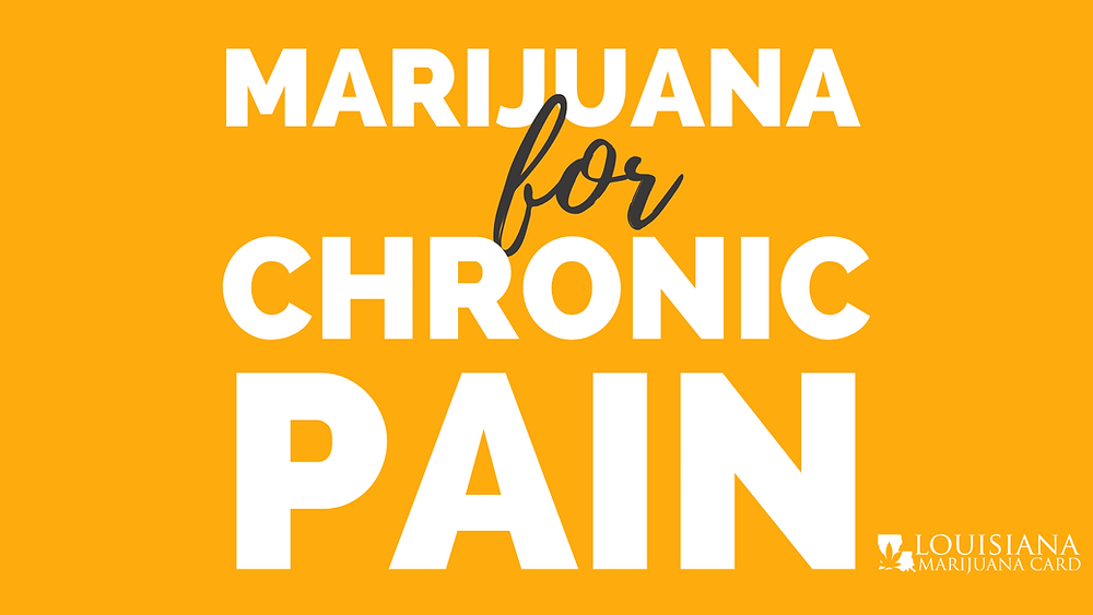 marijuana for chronic pain