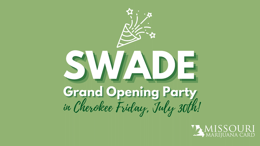 Swade grand opening party in Cherokee Friday, July 30th