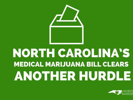 North Carolina's Medical Marijuana Bill Clears Another Hurdle