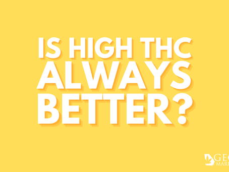Georgia Marijuana Card Answers: Is High THC Always Best?