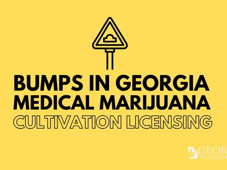 Bumps in Georgia Medical Marijuana Licensing