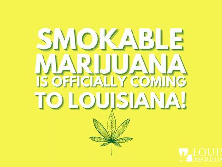 Governor Bel Edwards Signs Bill Approving Smokable Medical Marijuana in Louisiana