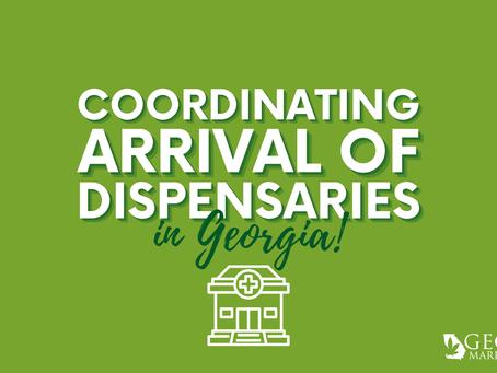 Georgia Coordinating Arrival of Dispensaries