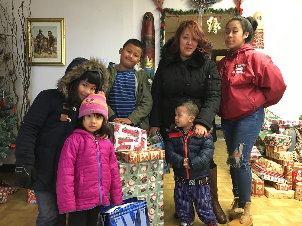 Dorson Community Foundation Toys for tots 2017