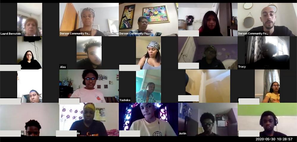 Dorson Scholars and board of directors for design challenge