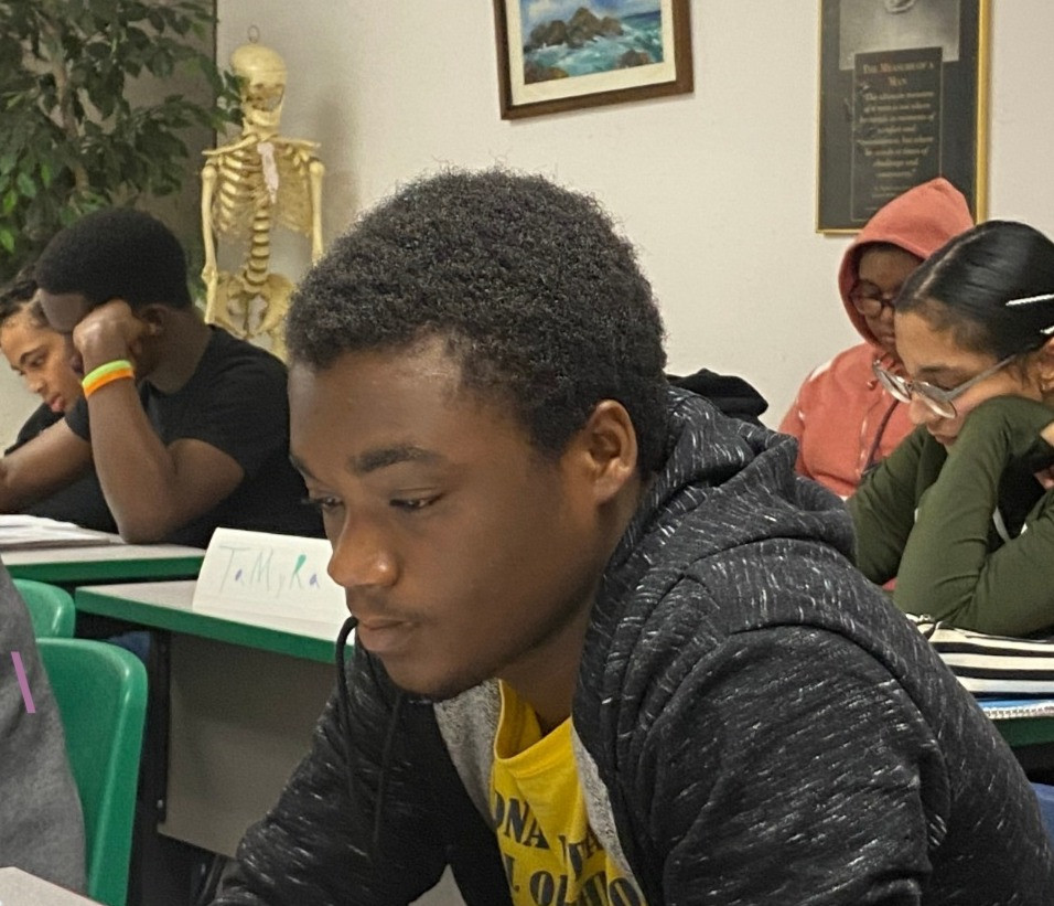 Titus dorson scholar in class