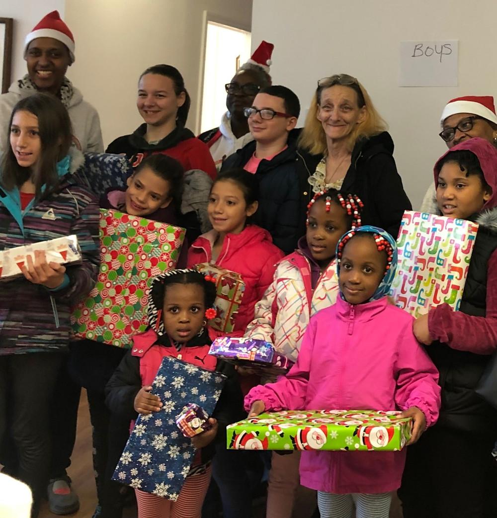 Toys for tots Dorson Community Foundation 2018