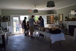 Indoor food area