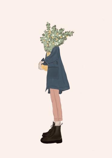 I want flowers