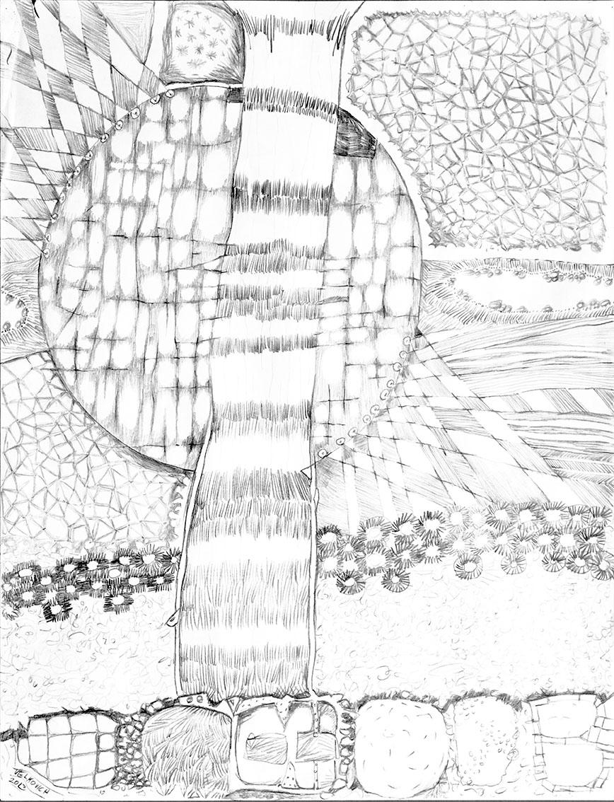 "drawing 2013 19""x22"""