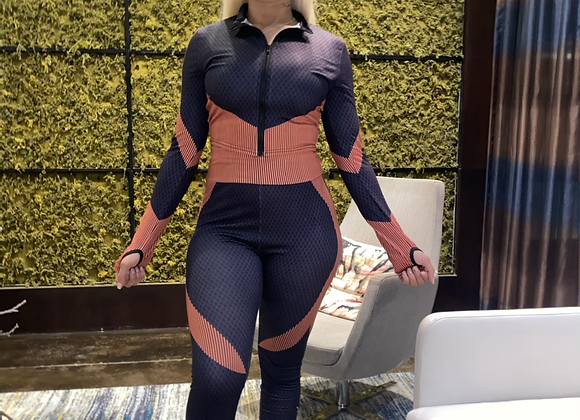 K Couture Tracksuit ( orange )